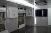 Interior de caravana